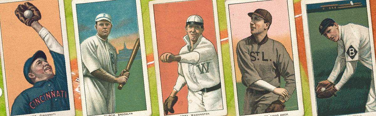 Cultural History Baseball Cards