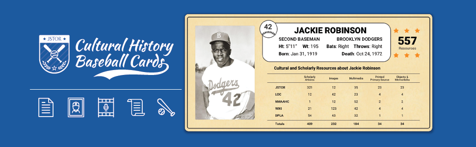 Introducing Cultural History Baseball Cards