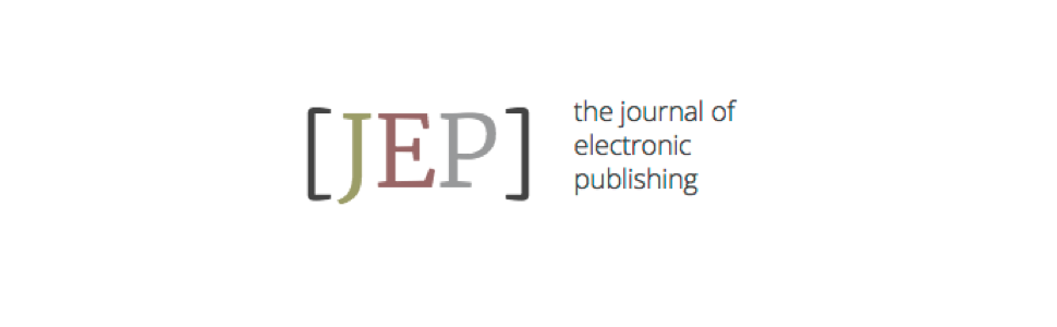 The Journal of Electronic Publishing