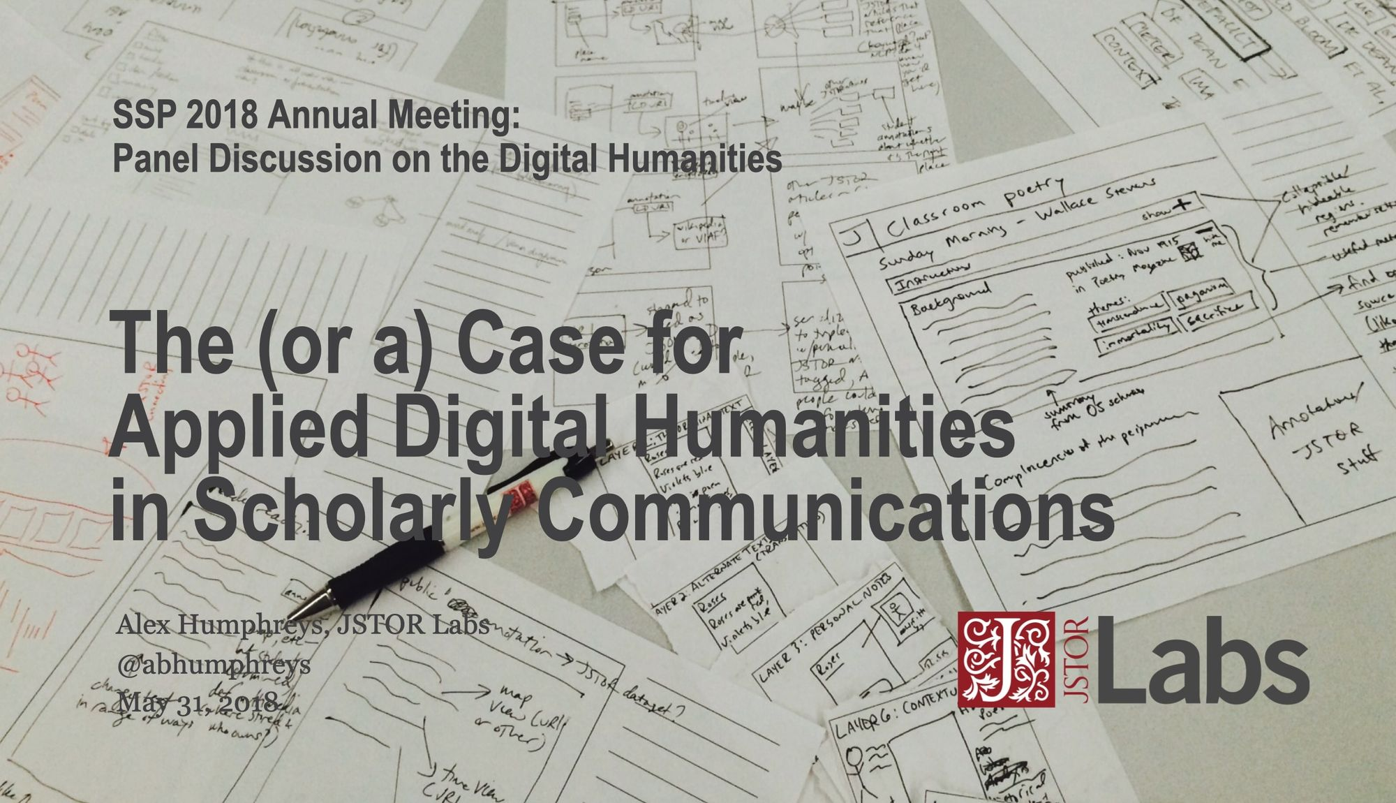 The Case for Applied Digital Humanities in Scholarly Communications