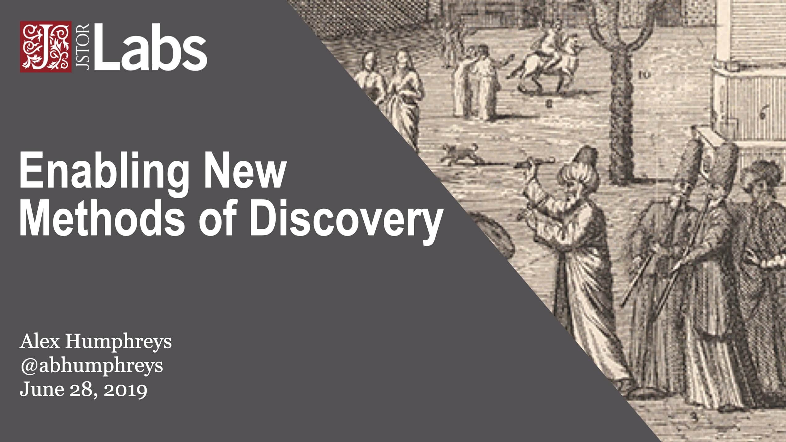 Enabling New Methods of Discovery