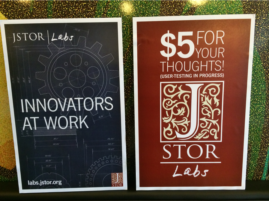 Really, Really Rapid Prototyping: Flash Builds and User-driven Innovation at JSTOR Labs